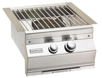 Fire Magic Aurora 19S0B0P0 Side Burner Stainless Steel, 1