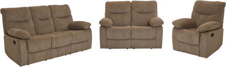 Standard Furniture Dinero 4219391291981 Living Room Set Brown, Main Image