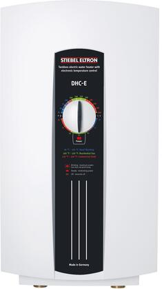 224201 DHC-E 8/10 Point of Use Tankless Electric Water Heater with 9600 Watts  Temperature Control  Pre-Copper-Clad Heating Element and 240/208 Volts