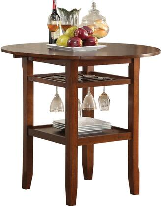 Acme Furniture Tartys 72535 Bar Table Brown, Counter Height Table