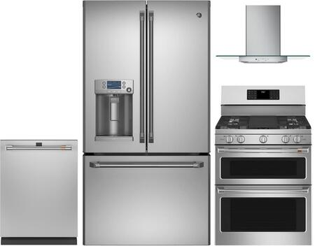 Cafe  1053153 Kitchen Appliance Package Stainless Steel, Main image