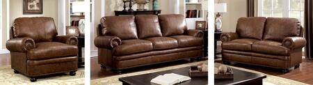 Furniture of America Reinhardt CM6318SLC Living Room Set Brown, main image