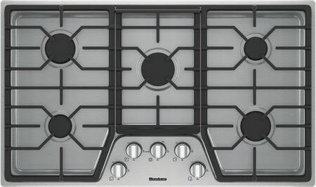 Blomberg CTG36500SS Gas Cooktop Stainless Steel, Main Image