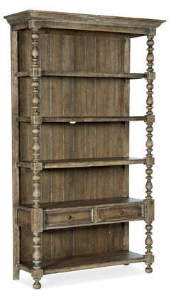 Hooker Furniture La Grange 69601044680 Bookcase, Silo Image