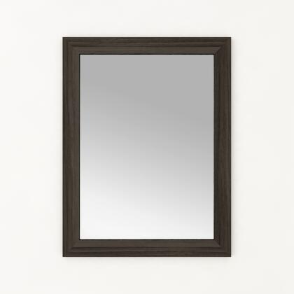 Cutler Kitchen and Bath Silhouette FVMIRROR23X30ZAMBUKKA Mirror Brown, Main Image