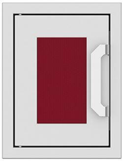 AGPTD16-BG 16″ Tin Roof Burgundy Paper Towel Dispenser with Marquise Accent