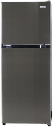 Equator ATFR1050ES Top Freezer Refrigerator Stainless Steel, ATFR1050ES Top Freezer Refrigerator