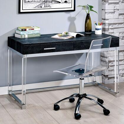 Furniture of America Tilly CMDK6090BK3A Desk, cm dk6090bk