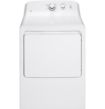GE  GTX33EASKWW Electric Dryer White, Main Image
