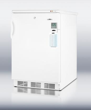 Summit Medical VT65MLMED Compact Freezer White, 1