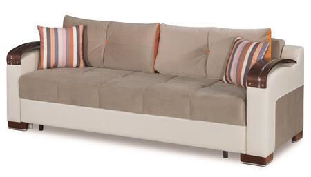 Casamode Divan Deluxe DIVANDELUXESOFAGRAY26379 Sofa Bed Gray, Main Image