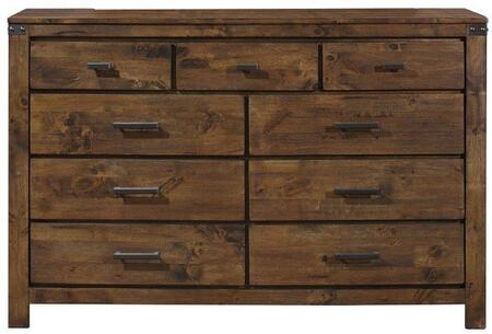 Global Furniture USA Victoria VICTORIAD Dresser Brown, Main Image