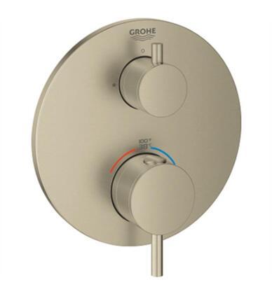 Atrio 24151EN3 Dual Function 2-Handle Thermostatic Trim  in Brushed