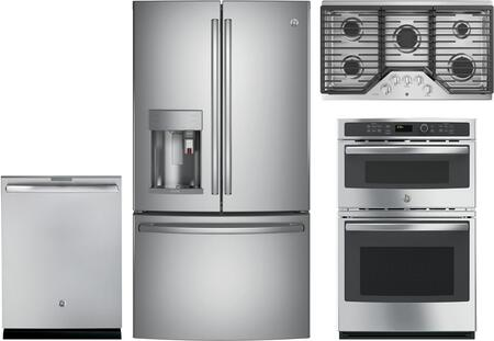 GE Profile 1115408 Kitchen Appliance Package & Bundle Stainless Steel, main image