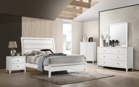 Lane Furniture Grant 1072FBEDSET Bedroom Set White, Bedroom Set