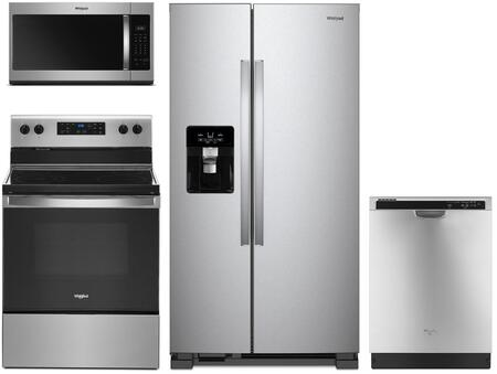 Whirlpool 1125661 Kitchen Appliance Package & Bundle Stainless Steel, main image