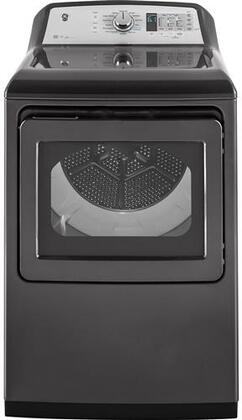 GE  GTD75ECPLDG Electric Dryer Slate, Main Image