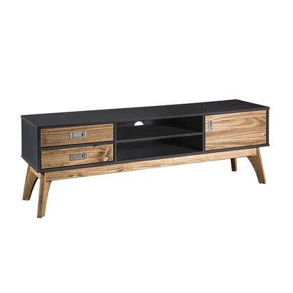 Manhattan Comfort Jackie CS96609 52 in. and Up TV Stand Gray, CS96609 A