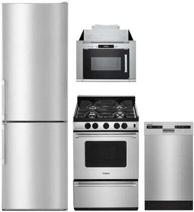 Whirlpool 1127504 Kitchen Appliance Package & Bundle Stainless Steel, Main image