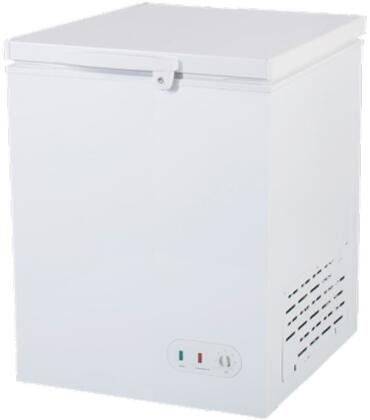 MXSH5.2S 31″ Select Series Solid Chest Freezer with 5.2 cu. ft. Capacity  Lid Lock and Manual Defrost in