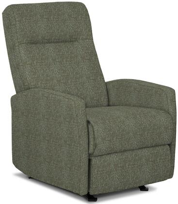 Arnold Collection 6SI04-18702B Recliner with High Tufted Backrest  Kiln Dried Hardwood Frame  Hidden Recline Handle  Sculpted Arm Design  Made in USA