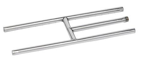American Fireglass SSH36 Burner Assembly Stainless Steel, Main Image