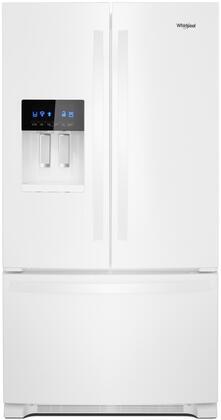 Whirlpool  WRF555SDHW French Door Refrigerator White, Main Image
