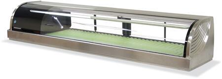 Hoshizaki HNC180BALS Display and Merchandising Refrigerator Stainless Steel, Main Image