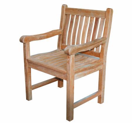 Douglas Nance Classic DN3451 Patio Chair Brown, DN3451 Main Image