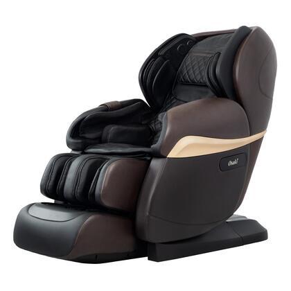 Osaki  OS4DPROPARAGONDARKBROWN Massage Chair Brown, Main Image