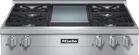 Miele  KMR1136G Gas Cooktop Stainless Steel, Main View