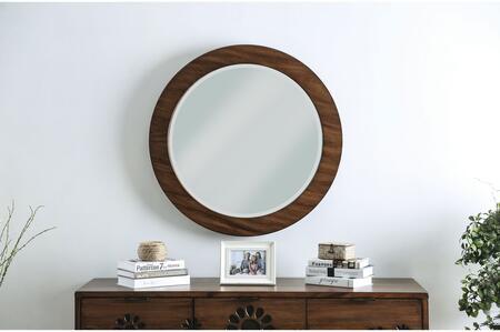 Amarantha Collection CM7362RM Round Mirror In Dark