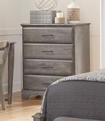 Carolina Furniture Vintage 534400 Chest of Drawer Gray, Main Image