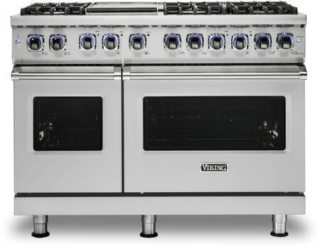 Viking 7 Series VGR74826GSS Freestanding Gas Range Stainless Steel, VGR74826GSS Main Image Front view