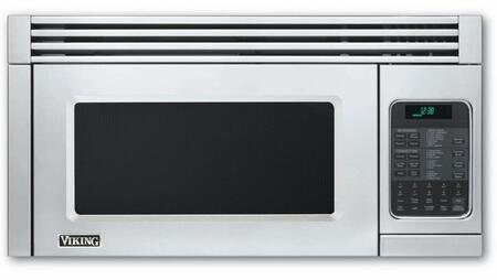 Viking 5 Series VMOR506SS Over The Range Microwave Stainless Steel, Main Image Front view