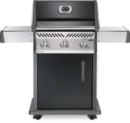Napoleon Rogue R425NK Natural Gas Grill Black, Main Image