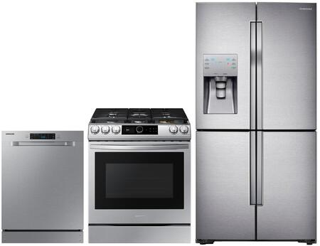 Samsung  1114814 Kitchen Appliance Package Stainless Steel, main image