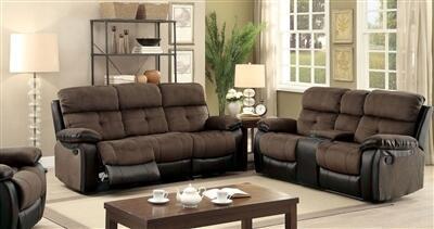 Furniture of America Hadley I CM6870SL Living Room Set Brown, main image