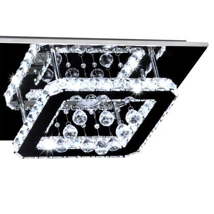 St Tropez Collection B4511 1 Light Flushmount in Chrome