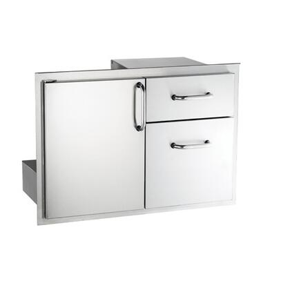 Fire Magic 33810S Storage Drawer Stainless Steel, 30 Inch Single Access Door