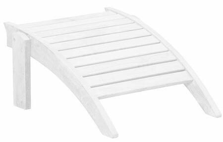 Douglas Nance Baywind White Adirondack DN1542 Patio Furniture Accessory White, DN1542 Main Image