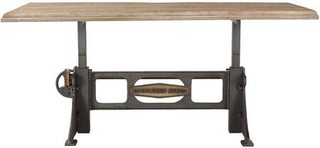 World Interiors Bethlehem ZWBMADT76 Dining Room Table, ZWBMADT76 Front