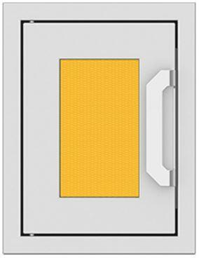AGPTD16-YW 16″ Sol Yellow Paper Towel Dispenser with Marquise Accent