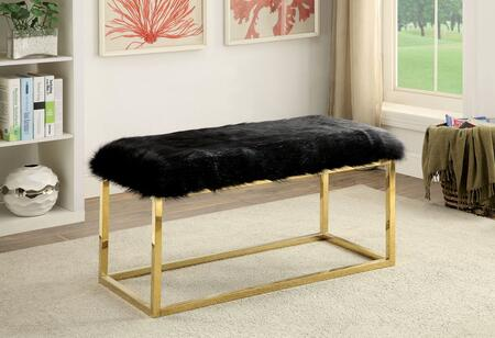 Furniture of America Zada CMBN6410BKL Bench Black, Main Image
