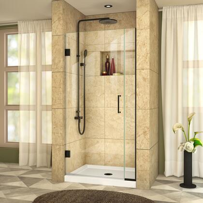 DreamLine  SHDR24340721009 Shower Door , UnidoorPlus Shower Door 39 30D 6P 09