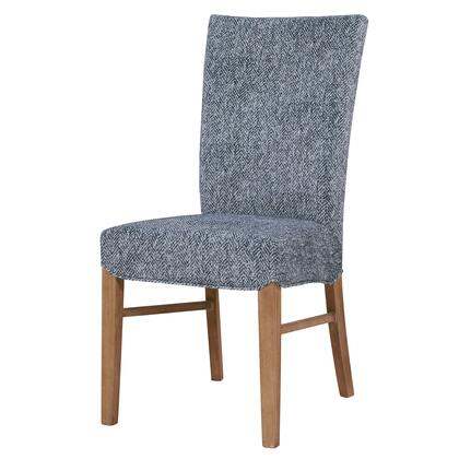 268239-244 Milton Fabric Chair Set of 2  in Quiver Indigo