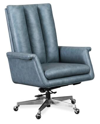 Hooker Furniture EC Series EC551037 Office Chair Blue, Silo Image