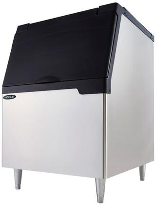 KB-350 30″ Ice Bin with 353 lbs. Ice Storage Capacity  Urethane Insulation and Ergonomic Door Design in Stainless