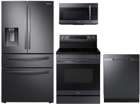 Samsung  1240314 Kitchen Appliance Package Black Stainless Steel, Main image