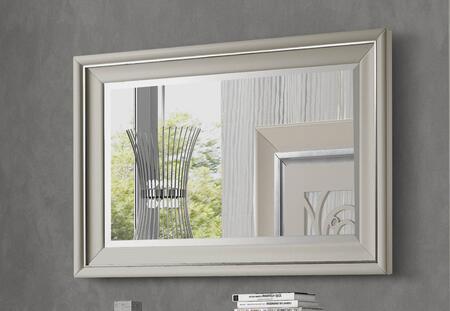 J and M Furniture 176241M Mirror Beige, Main Image